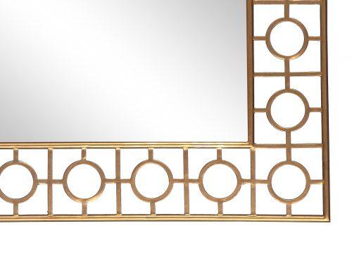 L&E Tarah Mirror Antique Gold (1)