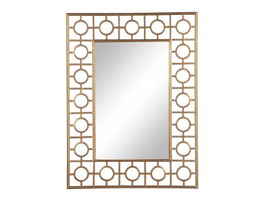 L&E Tarah Mirror Antique Gold (2)
