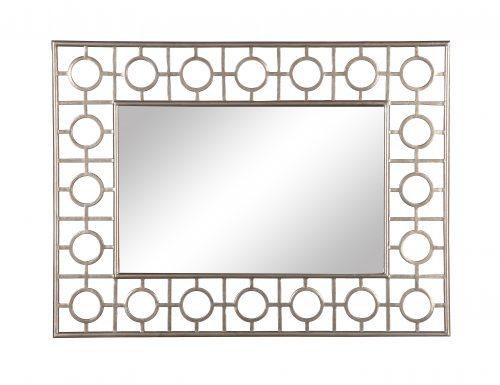 L&E Tarah Mirror Antique Silver (2)