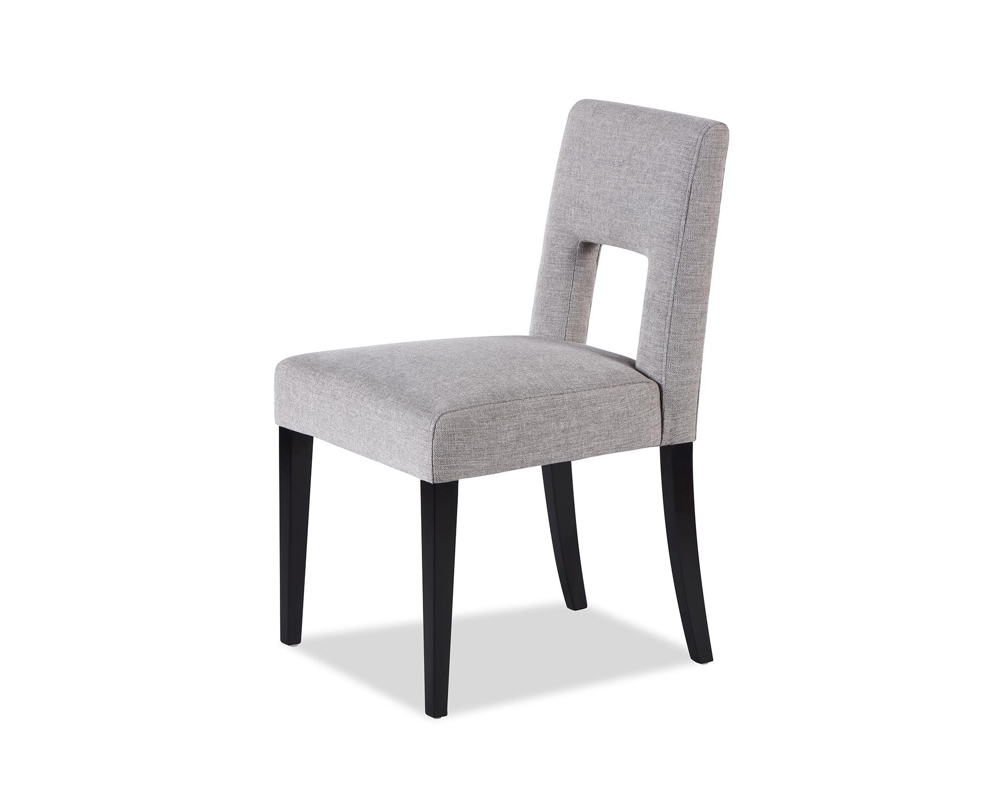 L&E Venice Dining Chair – Ash Grey Chenille (MY-DCH-016) (4)