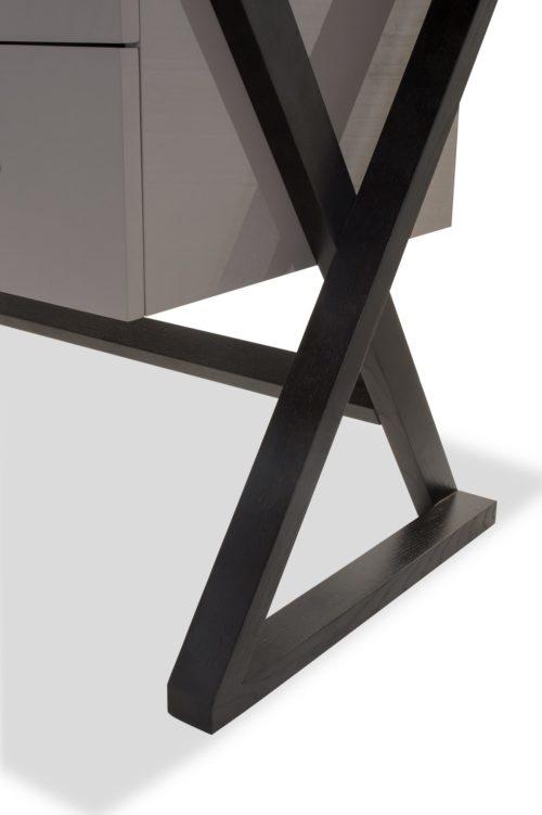 Liang & Eimil – Manhattan Desk – Taupe High Gloss (1)