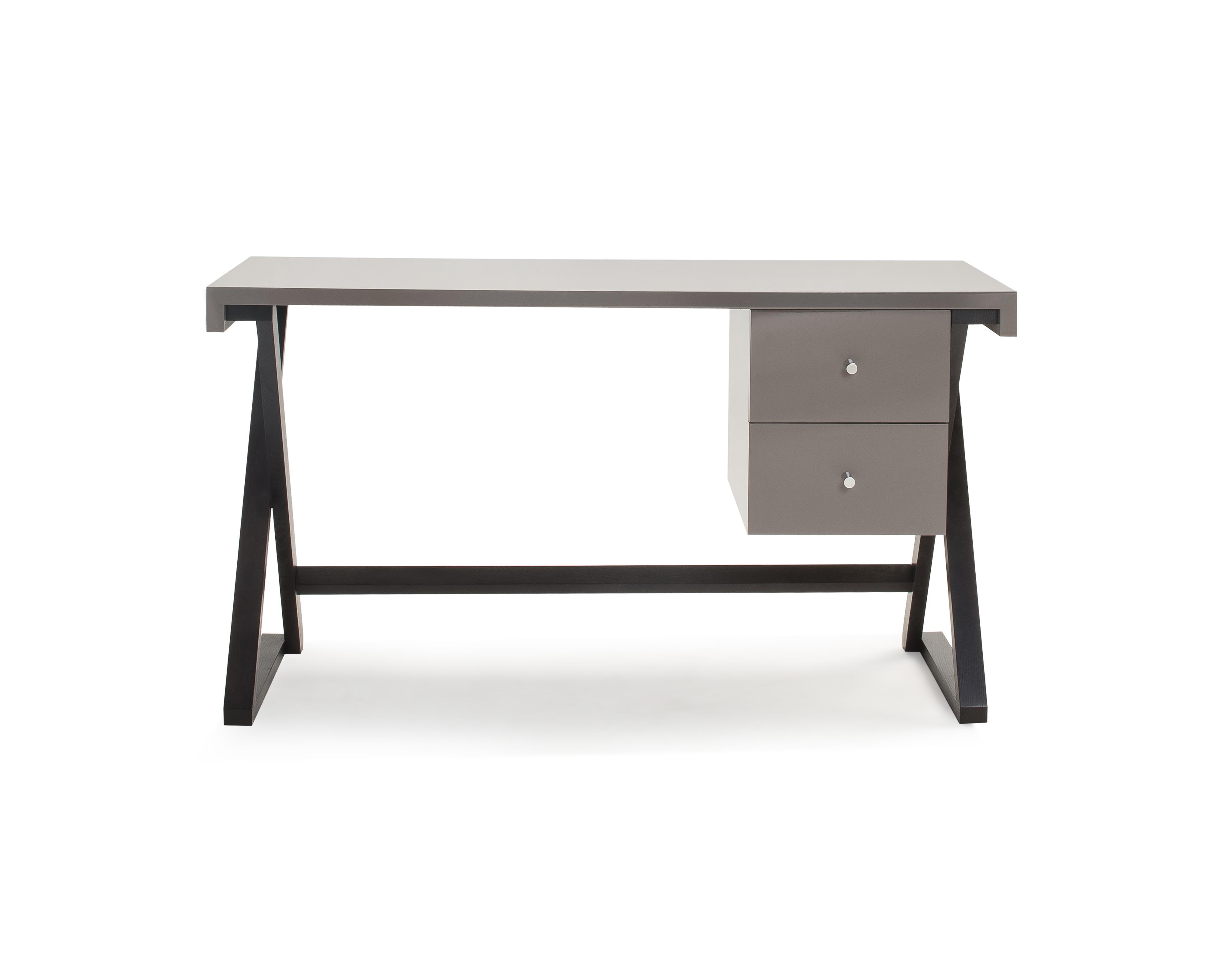 Liang & Eimil – Manhattan Desk – Taupe High Gloss (2)