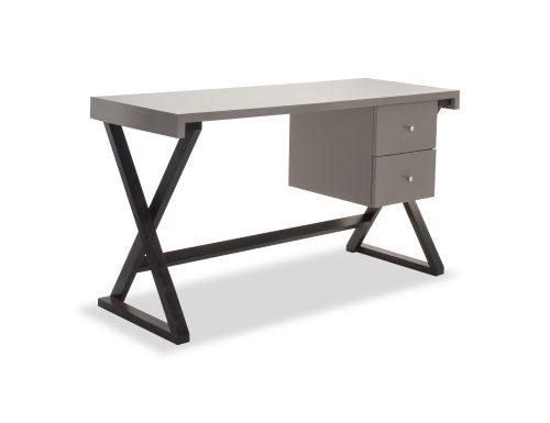 Liang & Eimil – Manhattan Desk – Taupe High Gloss (3)