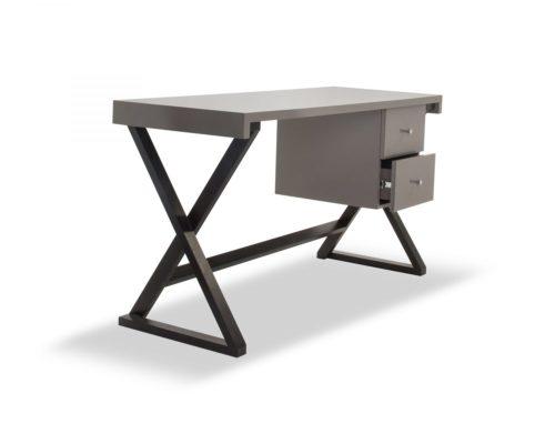 Liang & Eimil – Manhattan Desk – Taupe High Gloss (4)