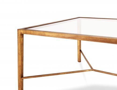 Liang & Eimil – Tarah Coffee Table – Antique Gold (1)