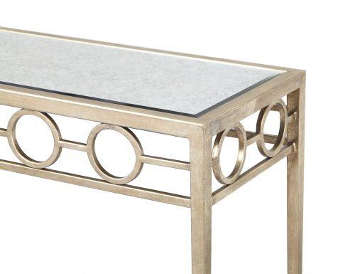 Liang & Eimil – Tarah Console Table – Antique Silver (1)