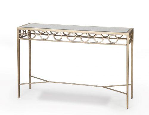 Liang & Eimil – Tarah Console Table – Antique Silver (4)