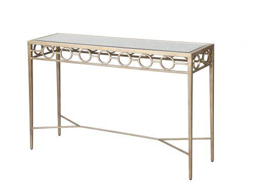 Liang & Eimil – Tarah Console Table – Antique Silver (5)
