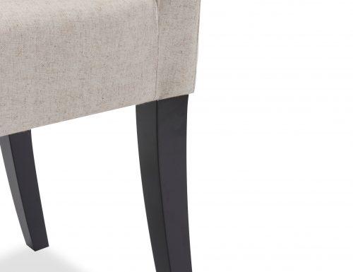 Liang & Eimil – Venice Dining Chair – Beige Linen (4)