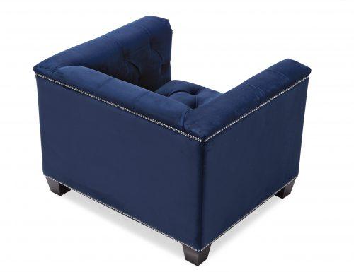 Liang & Eimil – Monroe Occasional Chair – Marine Blue Velvet