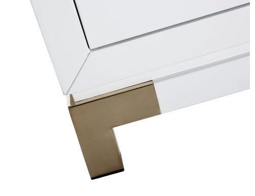 Liang & Eimil – Otium Sideboard – White High Gloss-Champagne Gold (3)