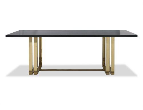 Liang & Eimil – Lennox Dining Table – Brass (1)