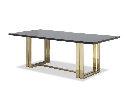 Liang & Eimil – Lennox Dining Table – Brass (2)