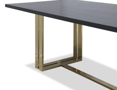 Liang & Eimil – Lennox Dining Table – Brass (3)
