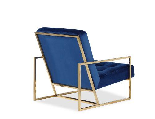 Liang & Eimil Nova Occasional Chair – Marine Blue Velvet PB (2)