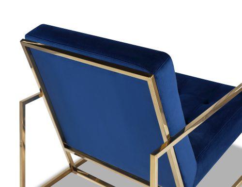 Liang & Eimil Nova Occasional Chair – Marine Blue Velvet PB (3)