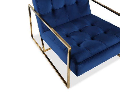 Liang & Eimil Nova Occasional Chair – Marine Blue Velvet PB (4)