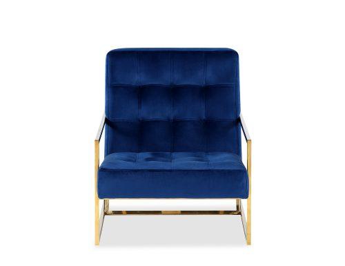 Liang & Eimil Nova Occasional Chair – Marine Blue Velvet PB (5)