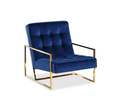 Liang & Eimil Nova Occasional Chair – Marine Blue Velvet PB (6)