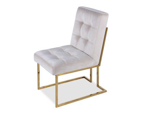 Liang & Eimil Warhol Dining Chair – Beige Velvet PB (1)