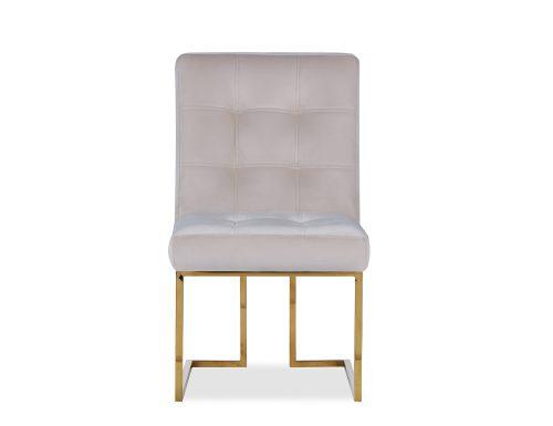 Liang & Eimil Warhol Dining Chair – Beige Velvet PB (2)