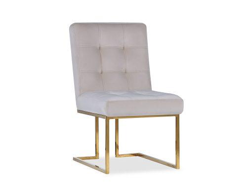Liang & Eimil Warhol Dining Chair – Beige Velvet PB (3)