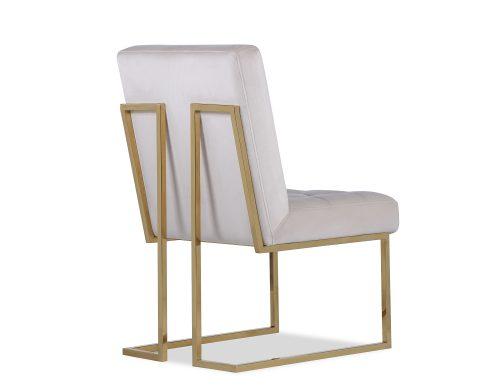 Liang & Eimil Warhol Dining Chair – Beige Velvet PB (5)