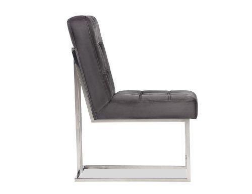 Liang & Eimil Warhol Dining Chair – Night Grey Velvet PSS (1)