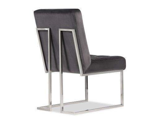 Liang & Eimil Warhol Dining Chair – Night Grey Velvet PSS (2)