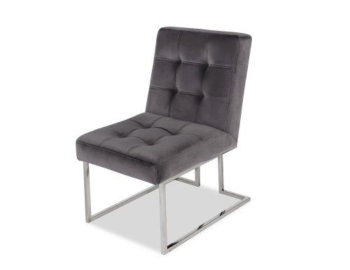 Liang & Eimil Warhol Dining Chair – Night Grey Velvet PSS (3)
