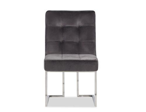 Liang & Eimil Warhol Dining Chair – Night Grey Velvet PSS (4)