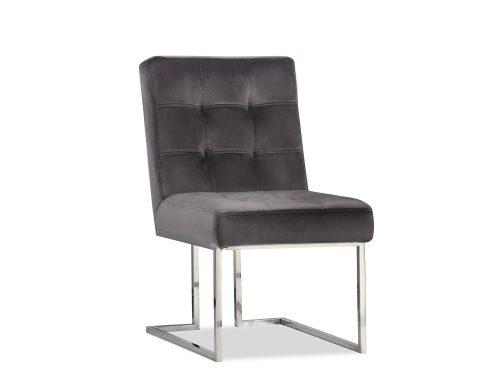 Liang & Eimil Warhol Dining Chair – Night Grey Velvet PSS (5)