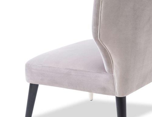 Liang & Eimil Agatha Occasional Chair – Fog Grey Velvet (4)