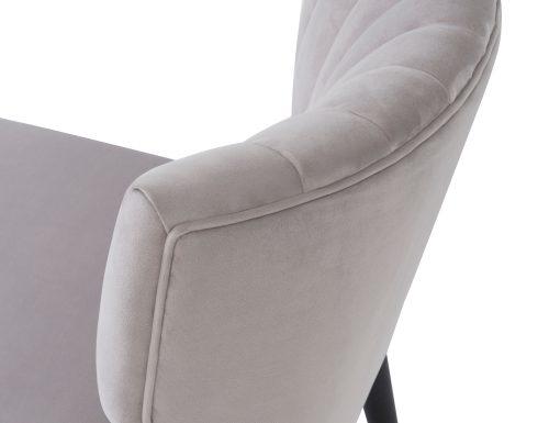 Liang & Eimil Agatha Occasional Chair – Fog Grey Velvet (7)