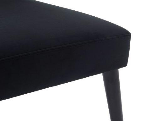 Liang & Eimil Agatha Occasional Chair – Pitch Black Velvet (7)