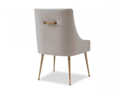 Liang & Eimil Cohen Dining Chair – Tan Beige Velvet (5)
