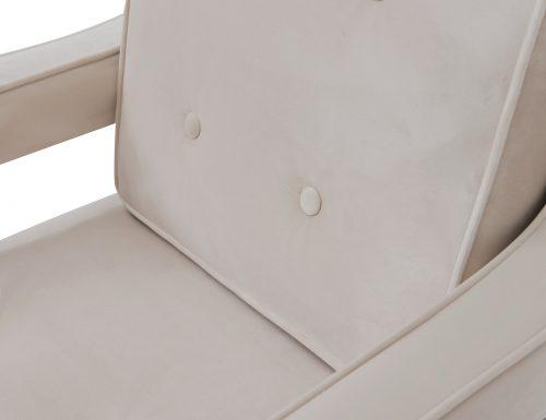 Liang & Eimil Edward Occasional Chair – Tan Beige Velvet (5)