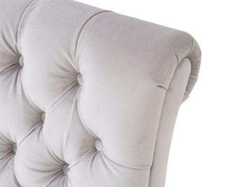 Liang & Eimil Kent Occasional Chair – Fog Grey Velvet (4)