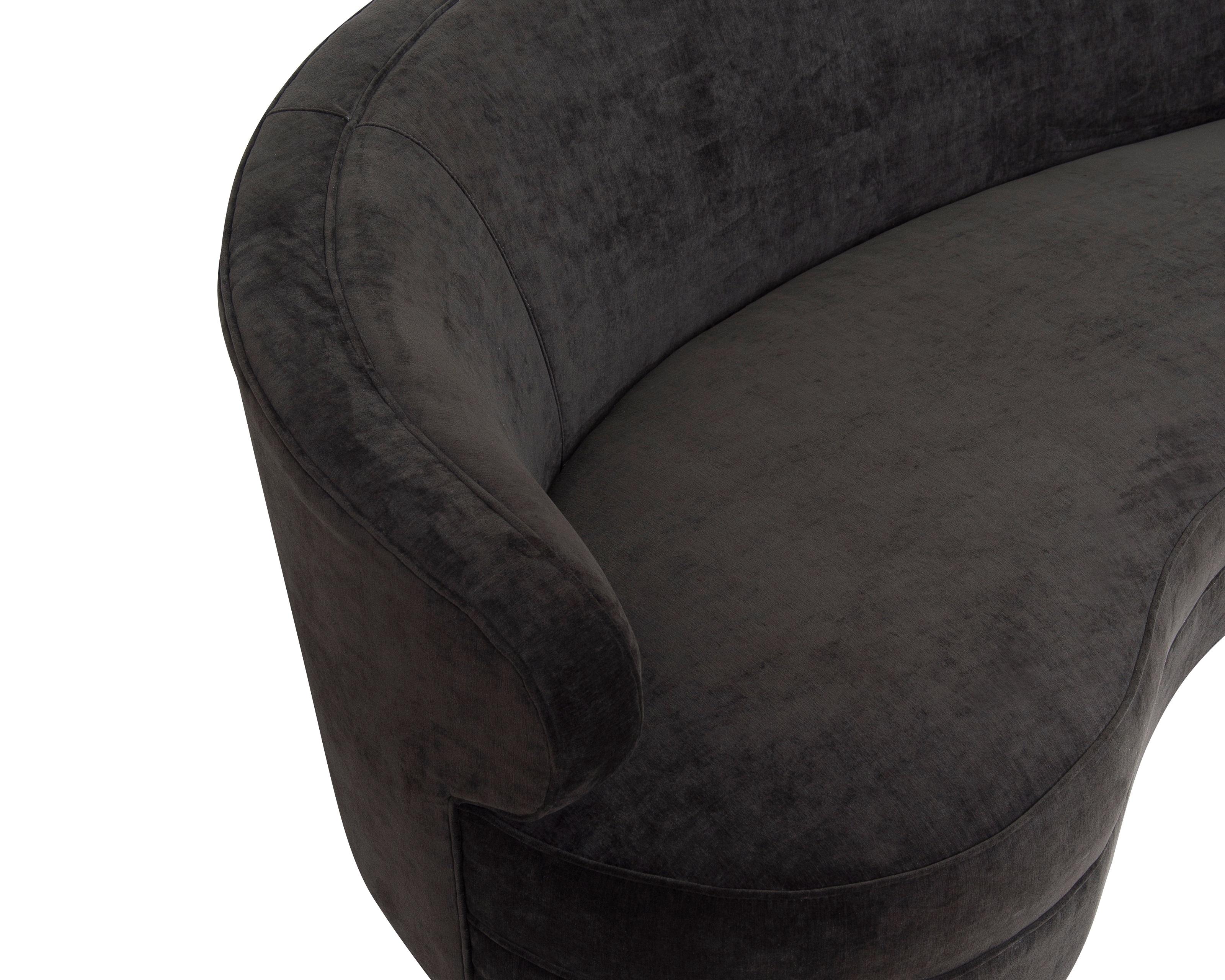 Liang & Eimil Pimlico Sofa – Jet Black Velvet (1)