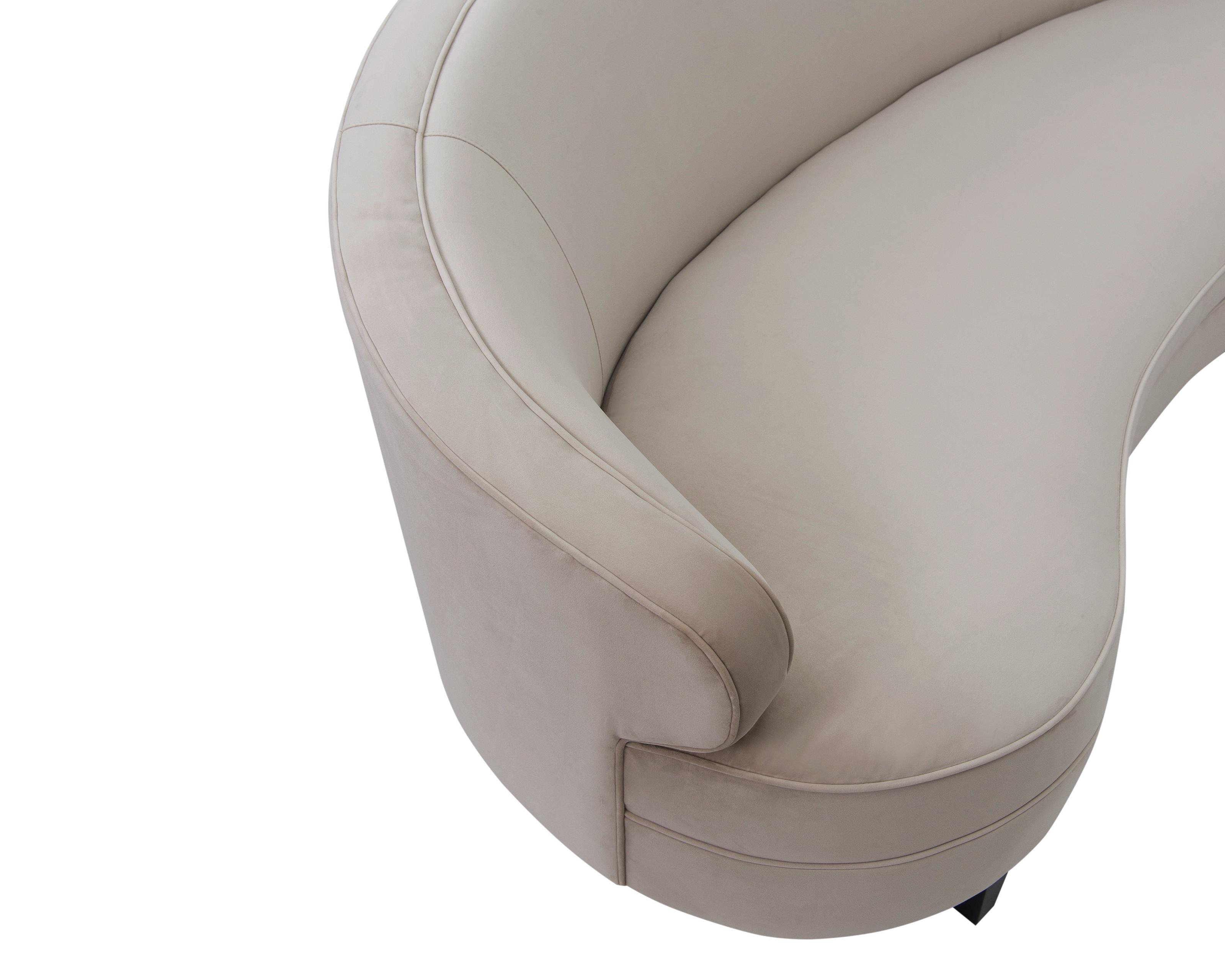 Liang & Eimil Pimlico Sofa – Tan Beige Velvet (3)