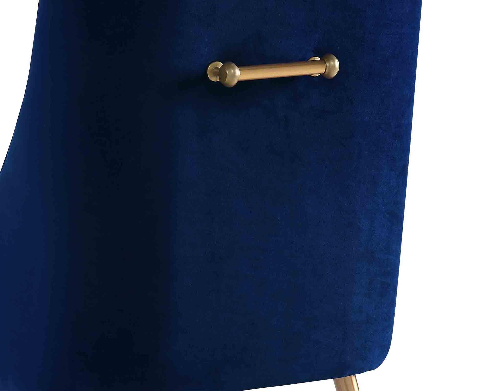 Liang & Eimil – Cohen Dining Chair – Marine Blue Velvet (5)