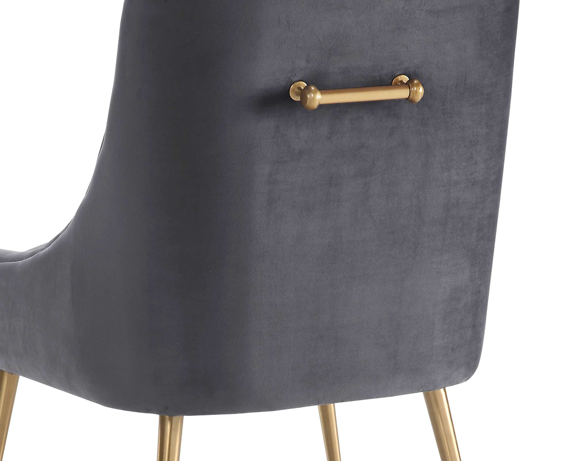 Liang & Eimil – Cohen Dining Chair – Night Grey Velvet (5)