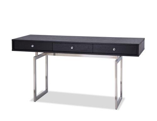 L&E Hamilton Desk – Wenge Ash Veneer – PSS (1)