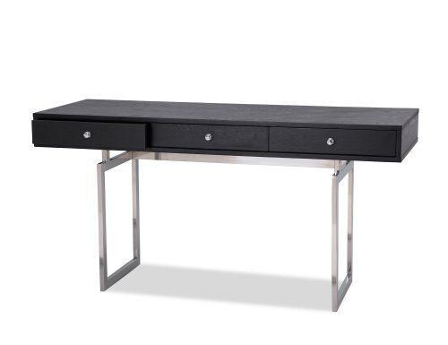 L&E Hamilton Desk – Wenge Ash Veneer – PSS (2)