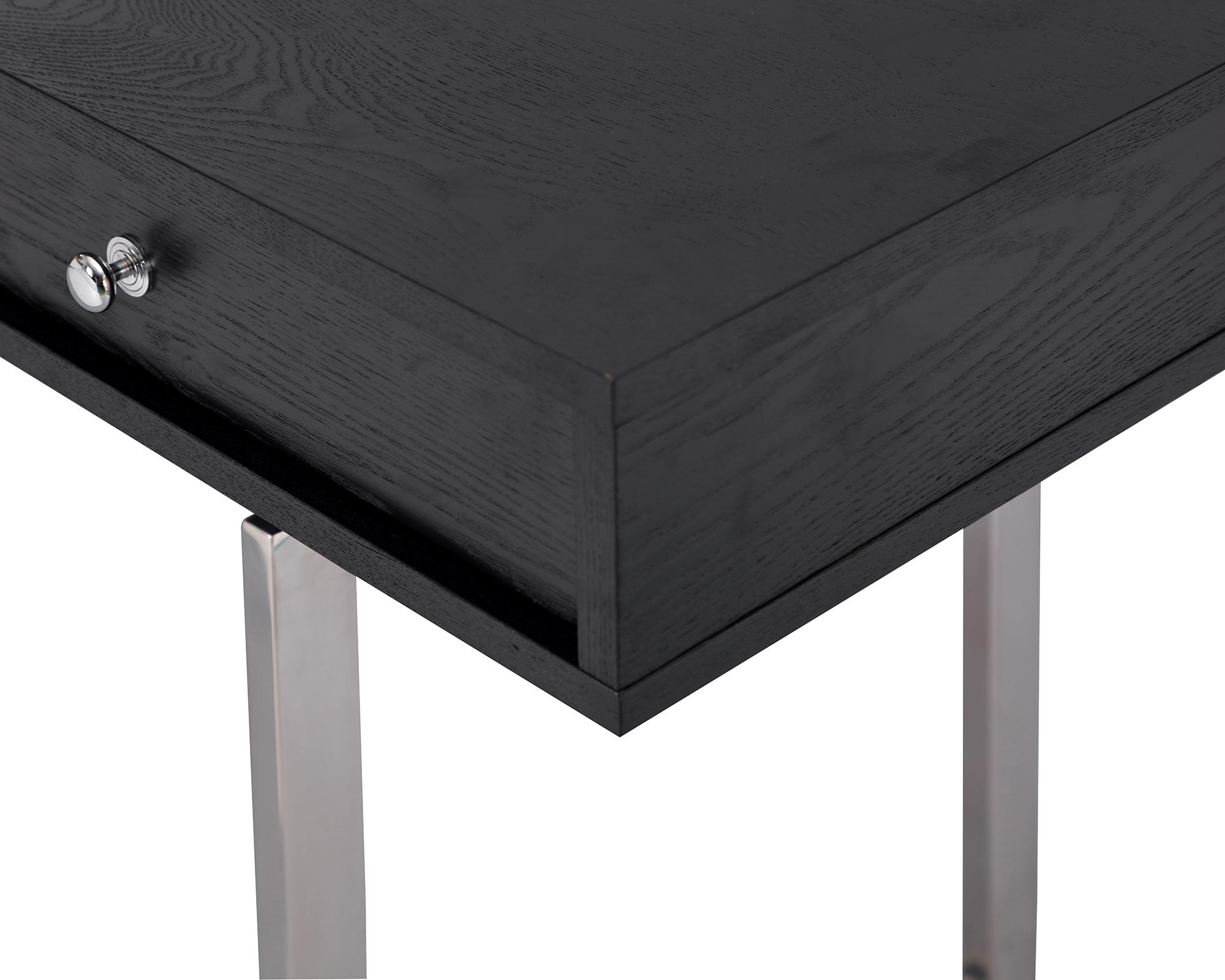 L&E Hamilton Desk – Wenge Ash Veneer – PSS (3)