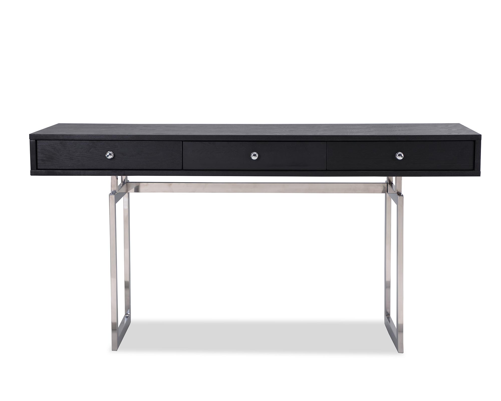 L&E Hamilton Desk – Wenge Ash Veneer – PSS (6)