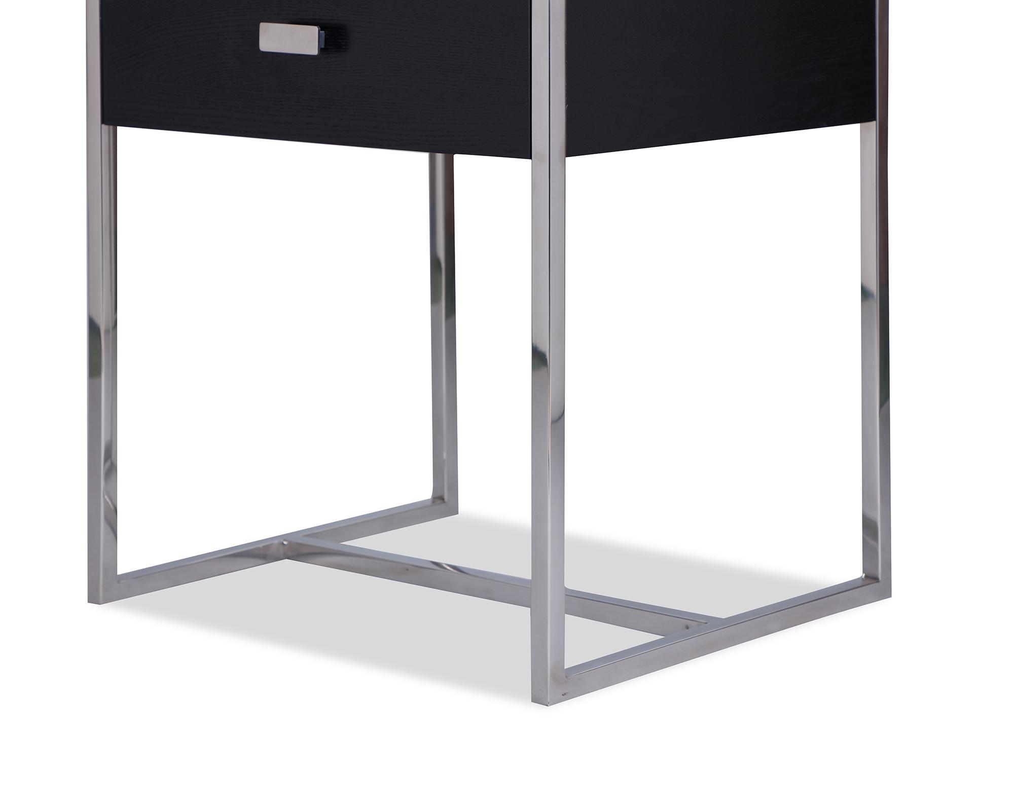 L&E Holman Bedside Table – Wenge – PSS (2)