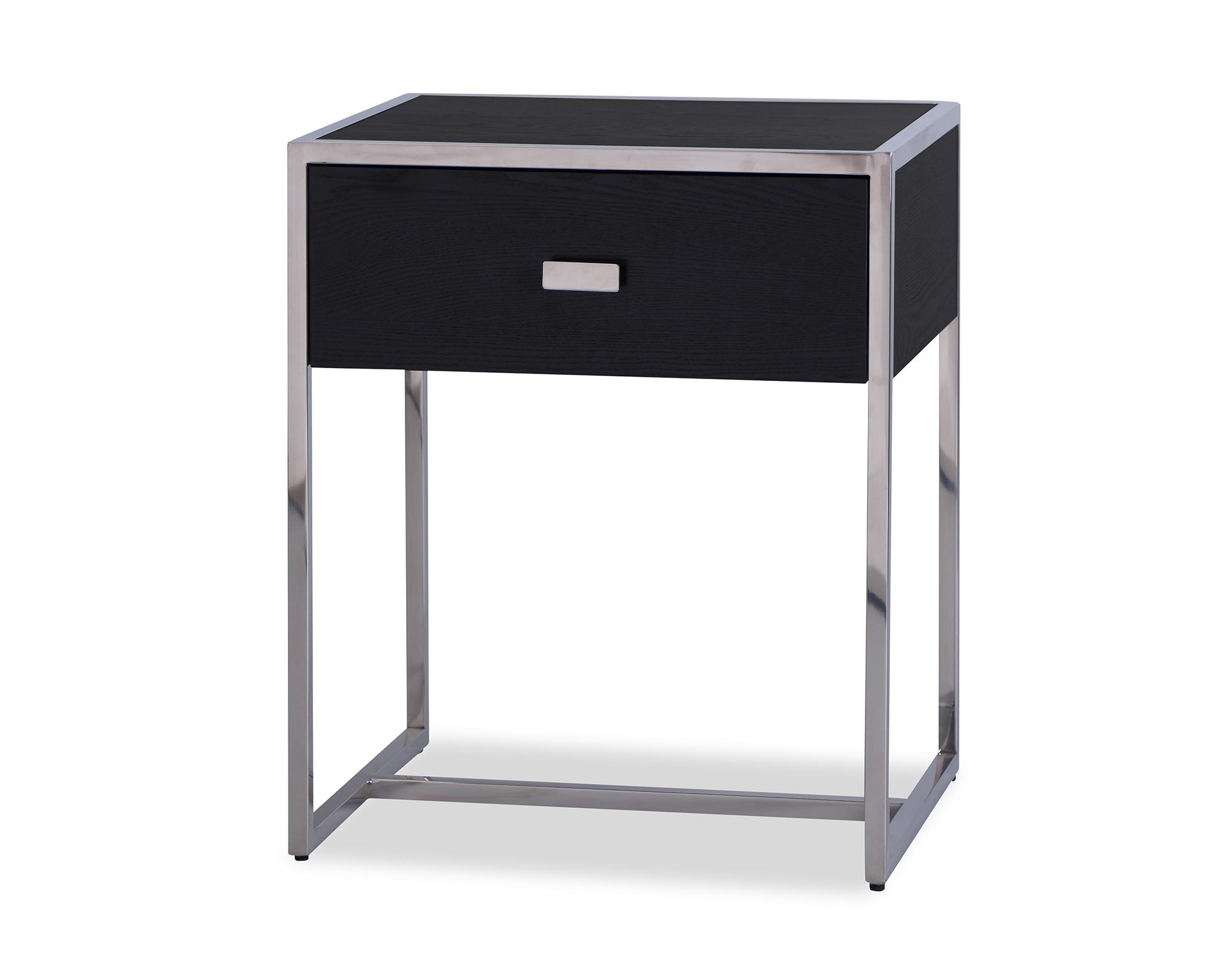 L&E Holman Bedside Table – Wenge – PSS (4)