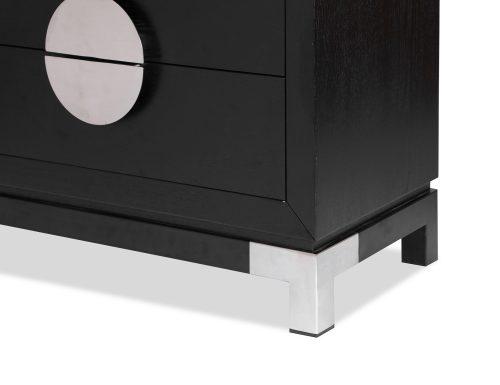 L&E Otium Bedside Table – Wenge Ash Veneer – PSS (1)