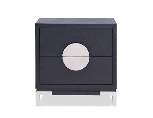 L&E Otium Bedside Table – Wenge Ash Veneer – PSS (2)